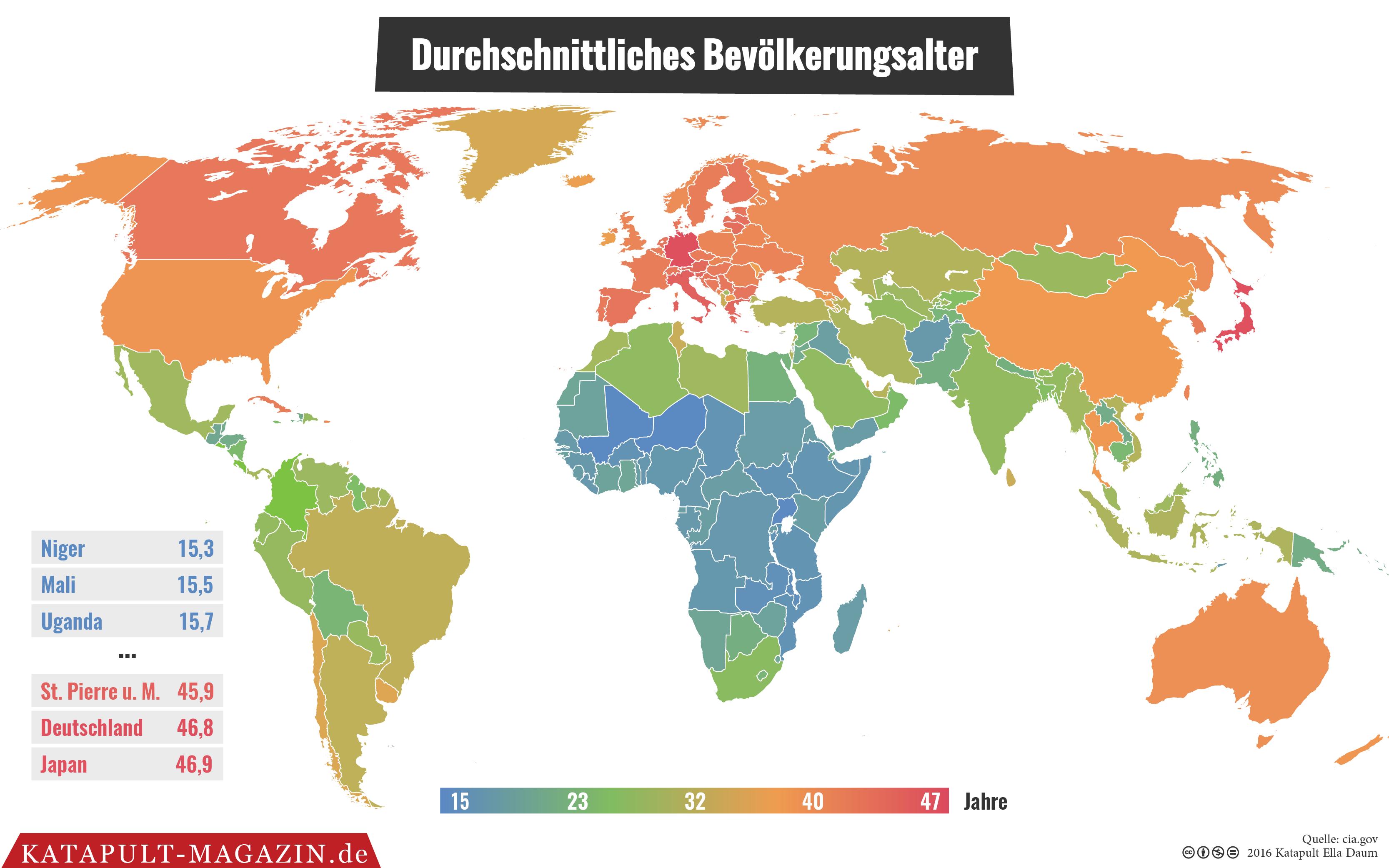 Demografie das zweit lteste land der welt deutschland hat for Minimalistische lebensweise