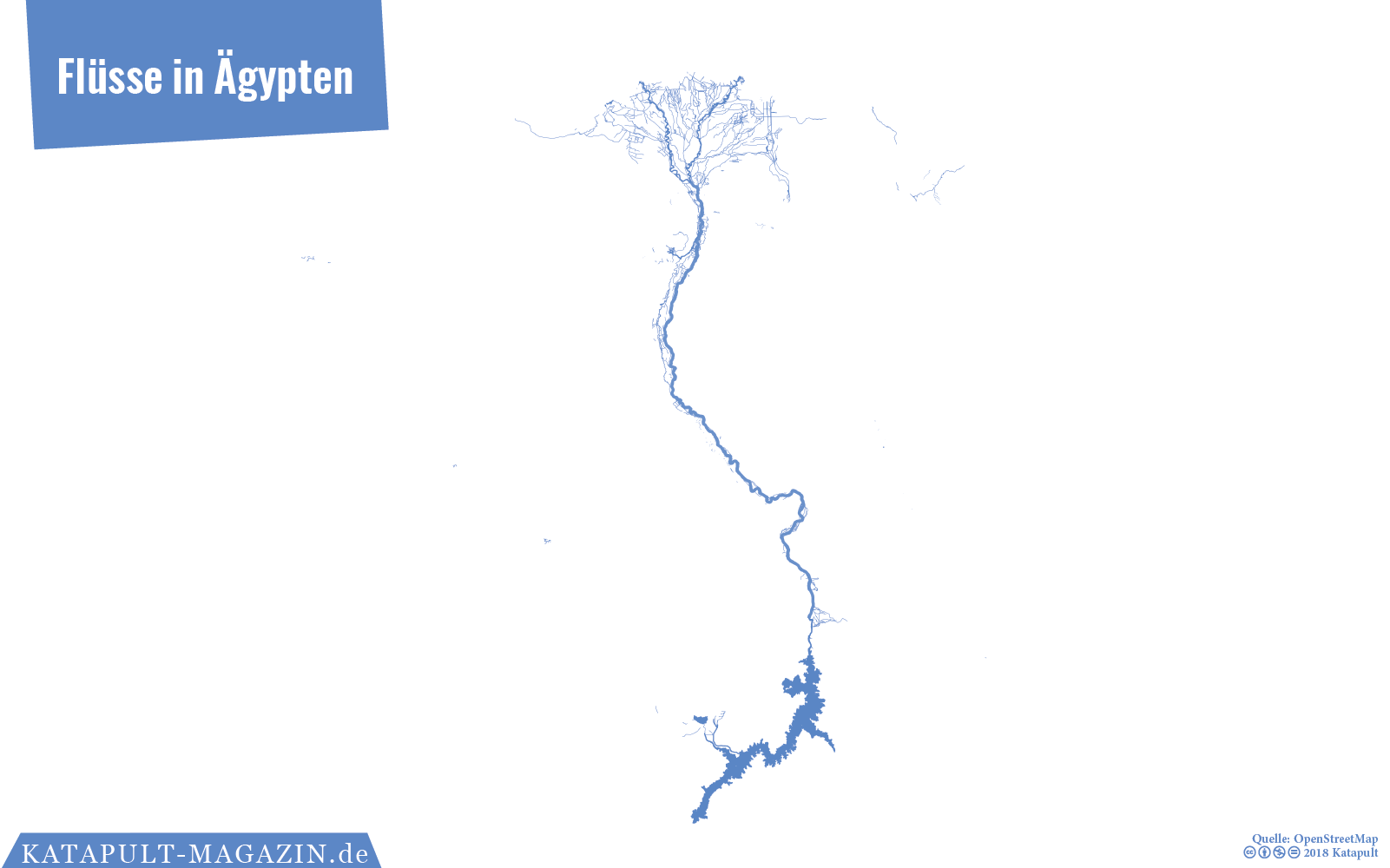 Karte ägypten Nil.Katapult