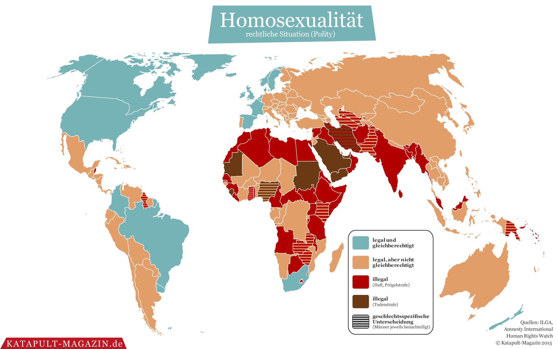 Wo Ist Homosexualität Verboten