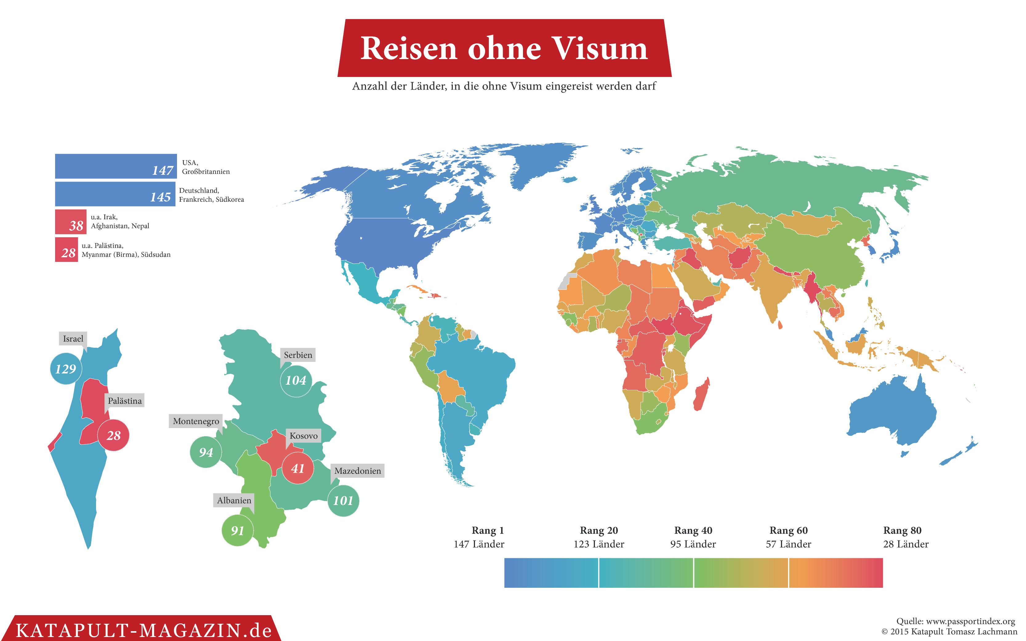 Für Welche Länder Brauchen Deutsche Ein Visum